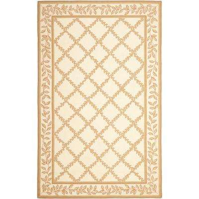 Chelsea Ivory/Camel 3 ft. 9 in. x 5 ft. 9 in. Area Rug