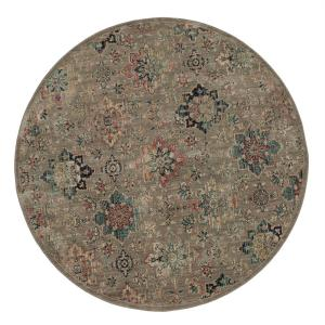 Isabella Grey 8 ft. x 8 ft. Round Area Rug