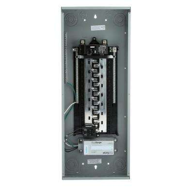 ES Series 200 Amp 30-Space 54-Circuit Main Breaker Load Center with 60kA FirstSurge Device Installed