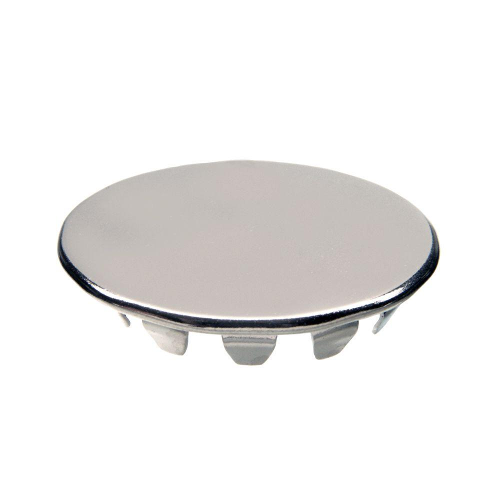 danco 1-1/4 in. sink hole cover in chrome-80246 - the home depot