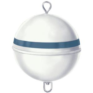 Jim-Buoy 15 inch Dia Premium Mooring Buoy with 46 lb. Buoyancy in White with... by Jim-Buoy