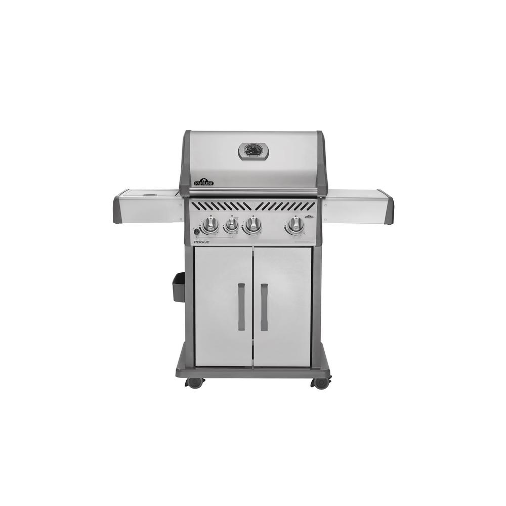 Napoleon Rogue 425 with Infrared Side Burner Propane Gas ...
