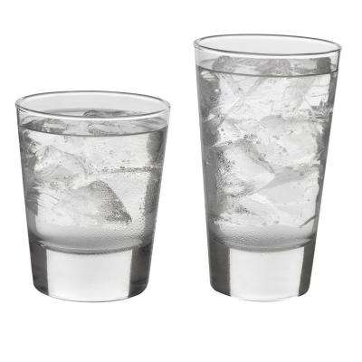 Libbey Geo 16-piece Glass Set