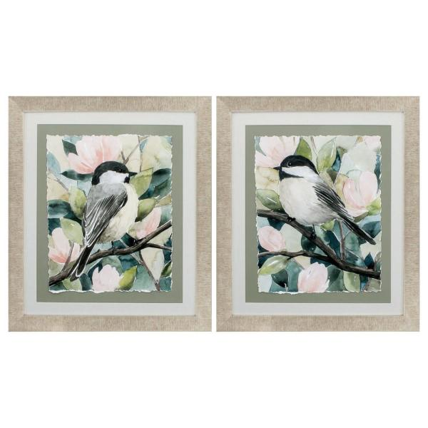 Homeroots Victoria Champagne Gold Color Gallery Frame Set Of 2 365486 The Home Depot