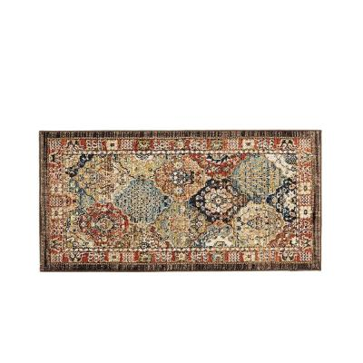 Patchwork Multi 2 ft. x 4 ft. Medallion Scatter Area Rug