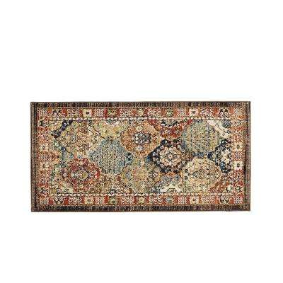 Patchwork Medallion Multi 2 ft. x 4 ft. Accent Rug