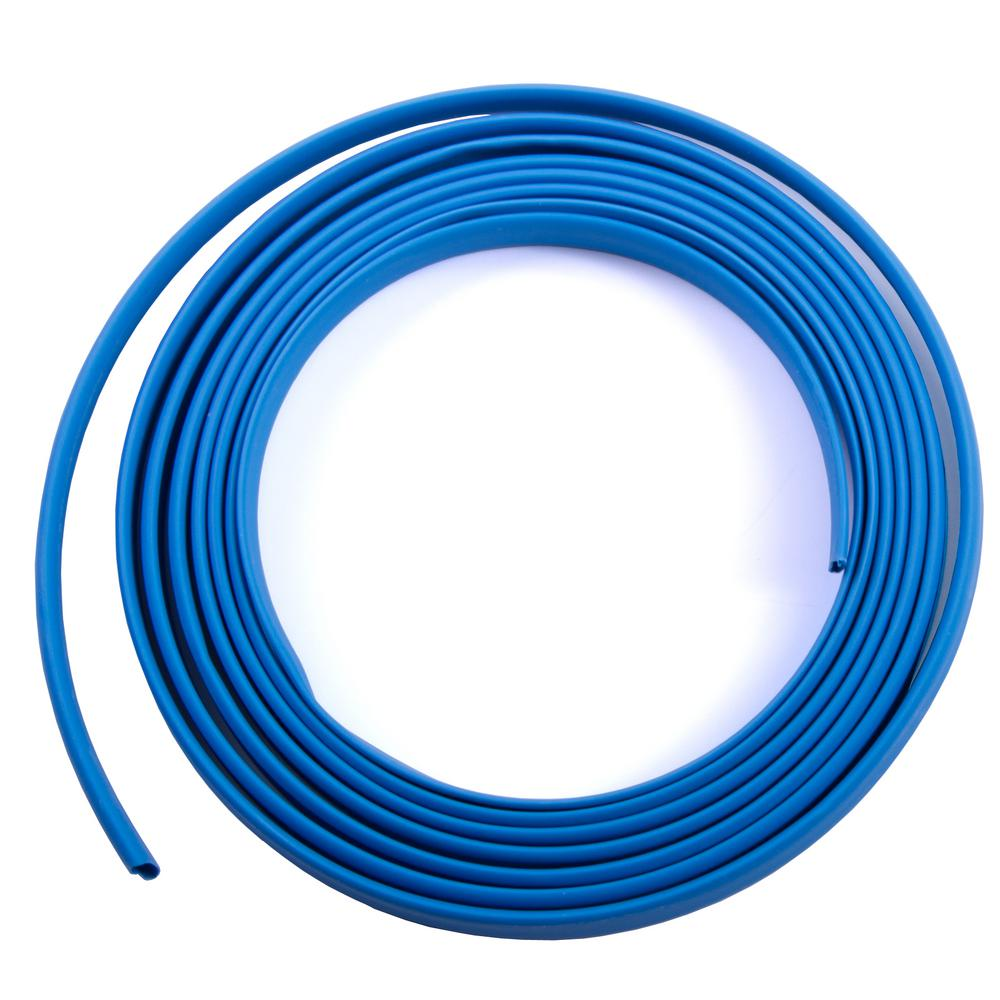 Polyolefin Electrical Tubing Wire Conduit Tools The Home Depot Xfinity Wiring 8 Ft Heat Shrink Blue 1 Pack Case Of 10
