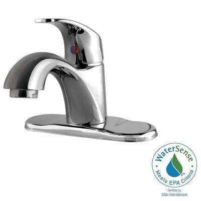 Light Commercial Collection 4 in. Centerset 1-Handle Bathroom Faucet in Chrome