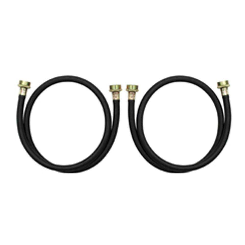 Whirlpool 4 ft. Residential Washer Hoses (2-Pack)