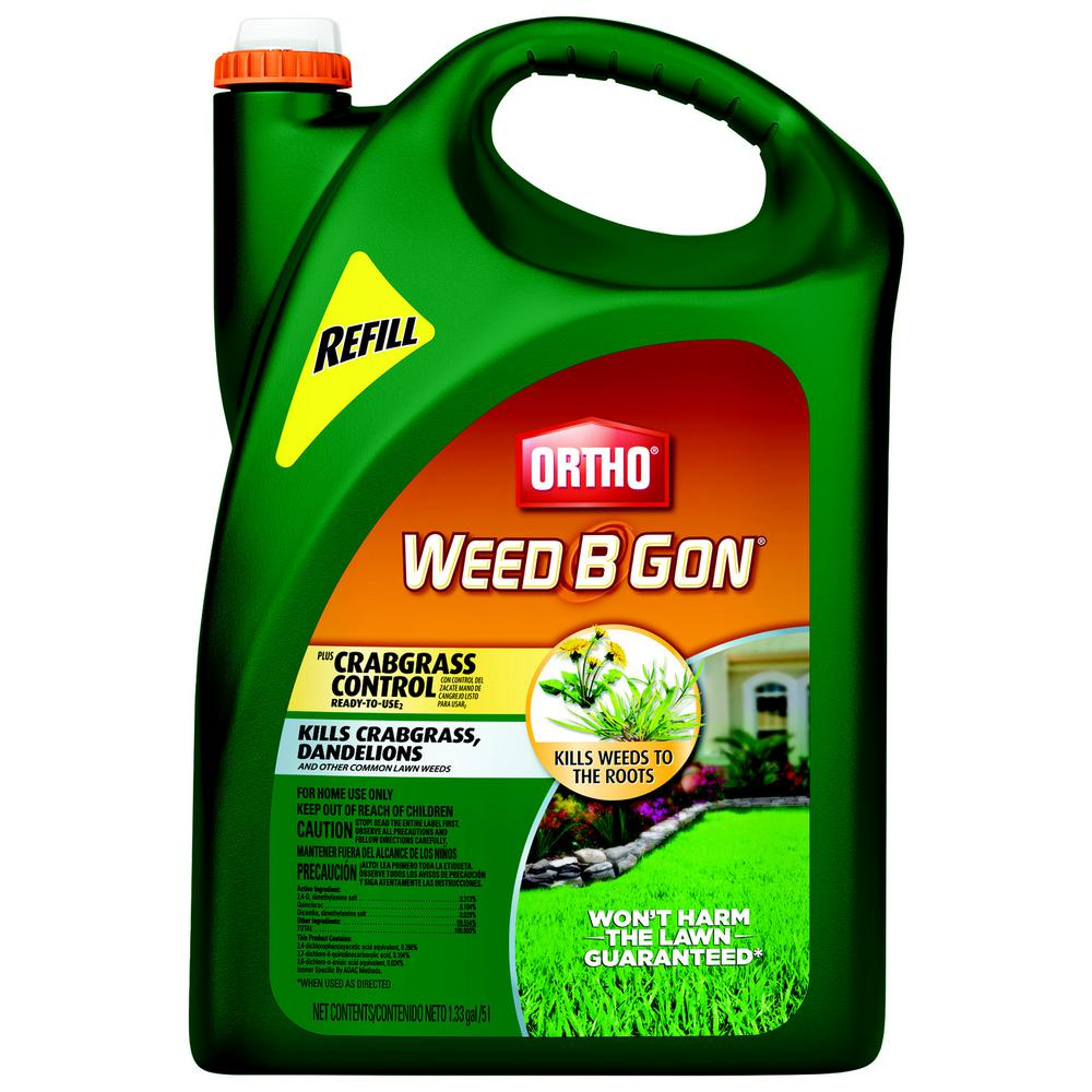 Ortho Weed B Gon 1.33 gal. Plus Crabgrass Control Ready-To-Use2 Refill (Wand)