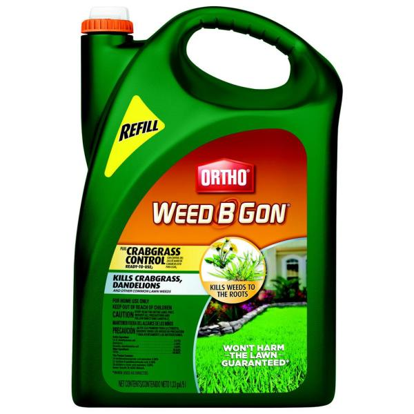 Weed B Gon 1.33 gal. Plus Crabgrass Control Ready-To-Use2 Refill (Wand)