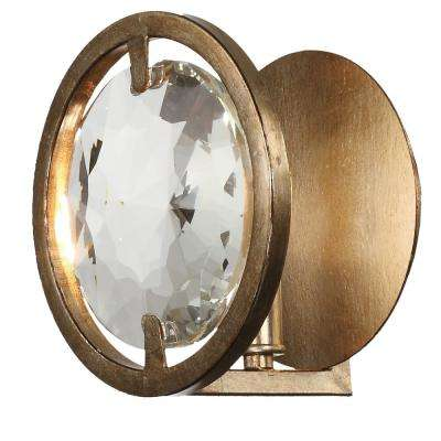 Quincy 1-Light Distressed Twilight Sconce
