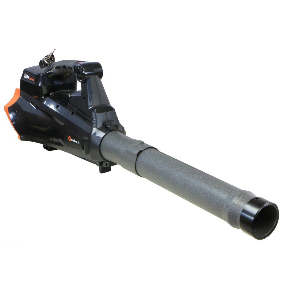 Redback 122 MPH 514 CFM 120-Volt Lithium-Ion Cordless Leaf Blower