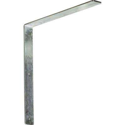 18 in. x 2 in. x 18 in. Steel Unfinished Metal Hamilton Bracket