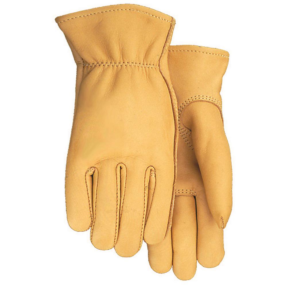 Smooth Grain Buckskin Glove