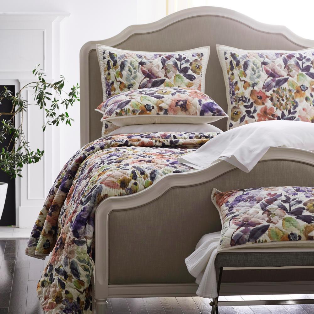 Watercolor Floral Legends® Luxury Sham