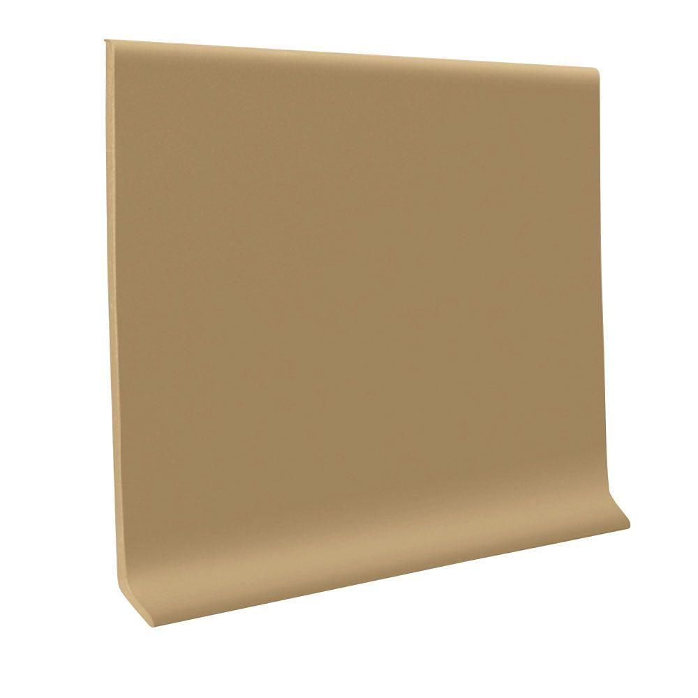 Base Cove For Accent Wall: Vinyl Sahara 4 In. X 48 In. X 1/8 In. Wall Cove Base (30