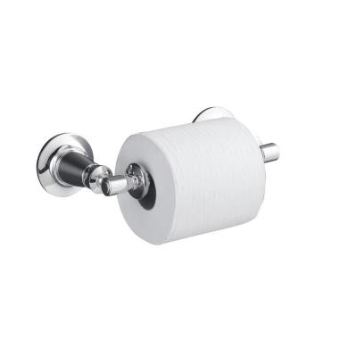Archer Double Post Toilet Paper Holder in Polished Chrome