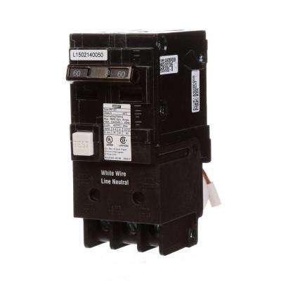 60 Amp Double Pole Type MP-GT2 GFCI Circuit Breaker
