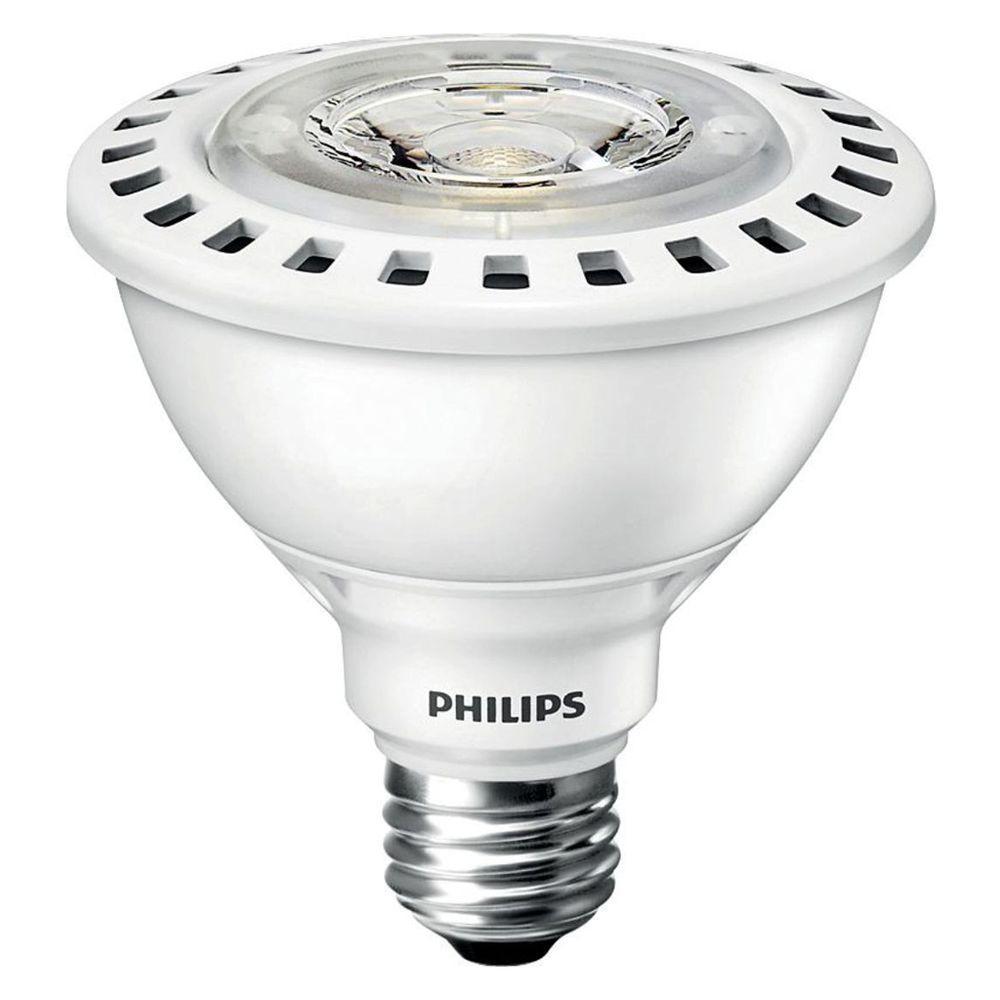 Philips 75W Equivalent Bright White (3000K) PAR30S LED Spot Light Bulb