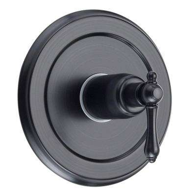 Bellver Single-Handle Valve Trim Kit with Pressure Balanced Valve in Oil Rubbed Bronze