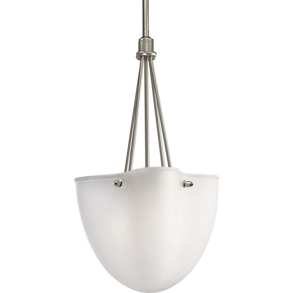 Progress Lighting Michael Graves Collection 2-Light Brushed Nickel Foyer Pendant-DISCONTINUED
