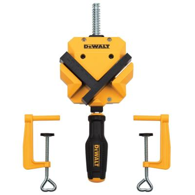 90-Degree 250 lb. Angle Clamp w/(2) Table Clamps
