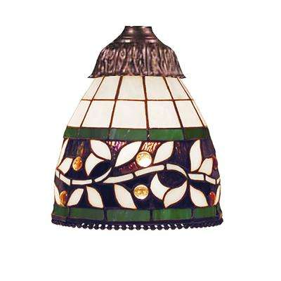 Mix-N-Match 1-Light English Ivy Tiffany Glass Shade
