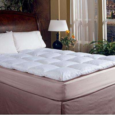 Classic 2 in. Gusset Queen Featherbed