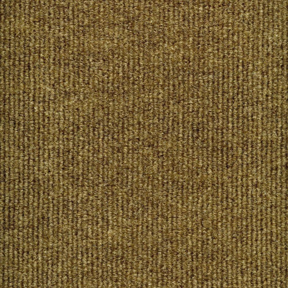 TrafficMASTER Elevations - Color Stone Beige Ribbed Texture Indoor ...
