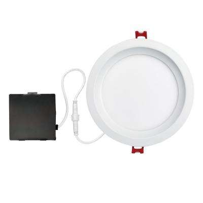 Designer Slim Glare Control 6 in. White Integrated LED Recessed Kit