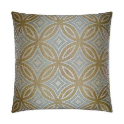 Alana Feather Down 24 in. x 24 in. Standard Decorative Throw Pillow
