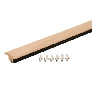 Millstead Unfinished Maple 0 75 In Thick X 2 25 In Wide X 78 In Length Lipover Reducer Molding Lm6503 The Home Depot