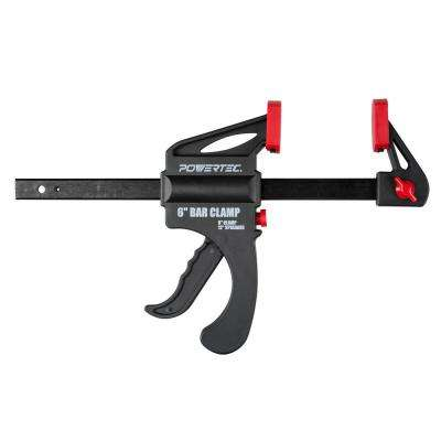 6 in. x 2-1/2 in. Quick Release Bar Clamp with 12 in. Spreader