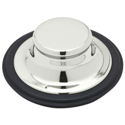 Garbage Disposal Stopper in Polished Nickel