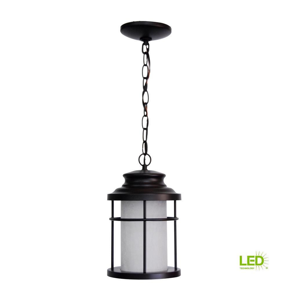 Kingscote AC Antique Bronze LED Hanging Light