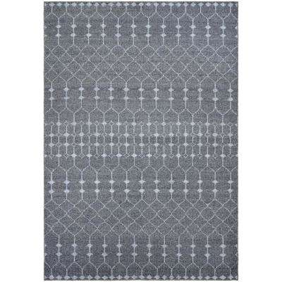 Casbah Aria Grey-Pewter 8 ft. x 11 ft. Area Rug