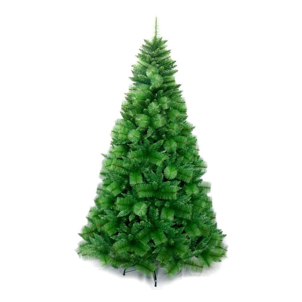 ALEKO 8 ft. Unlit Artificial Christmas Tree