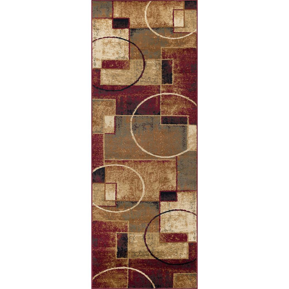 Tayse Rugs Festival Multi 3 Ft X 7 Ft Contemporary