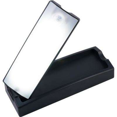 Battery Operated Wireless Motion-Sensing Black LED Task Light