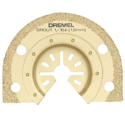 Multi-Max 1/16 in. Grout Removal Oscillating Tool Blade