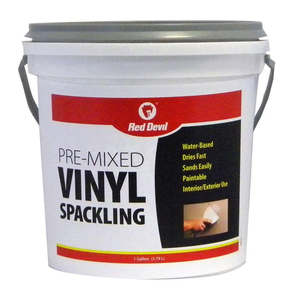 1 gal. Pre-Mixed Vinyl Spackling
