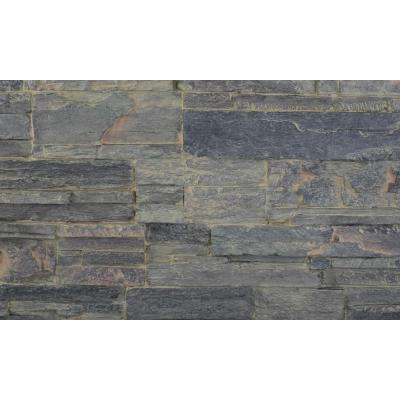 Cliff Gray 8 in. x 8 in. x 3/4 in. Faux Tennessee Stone Sample