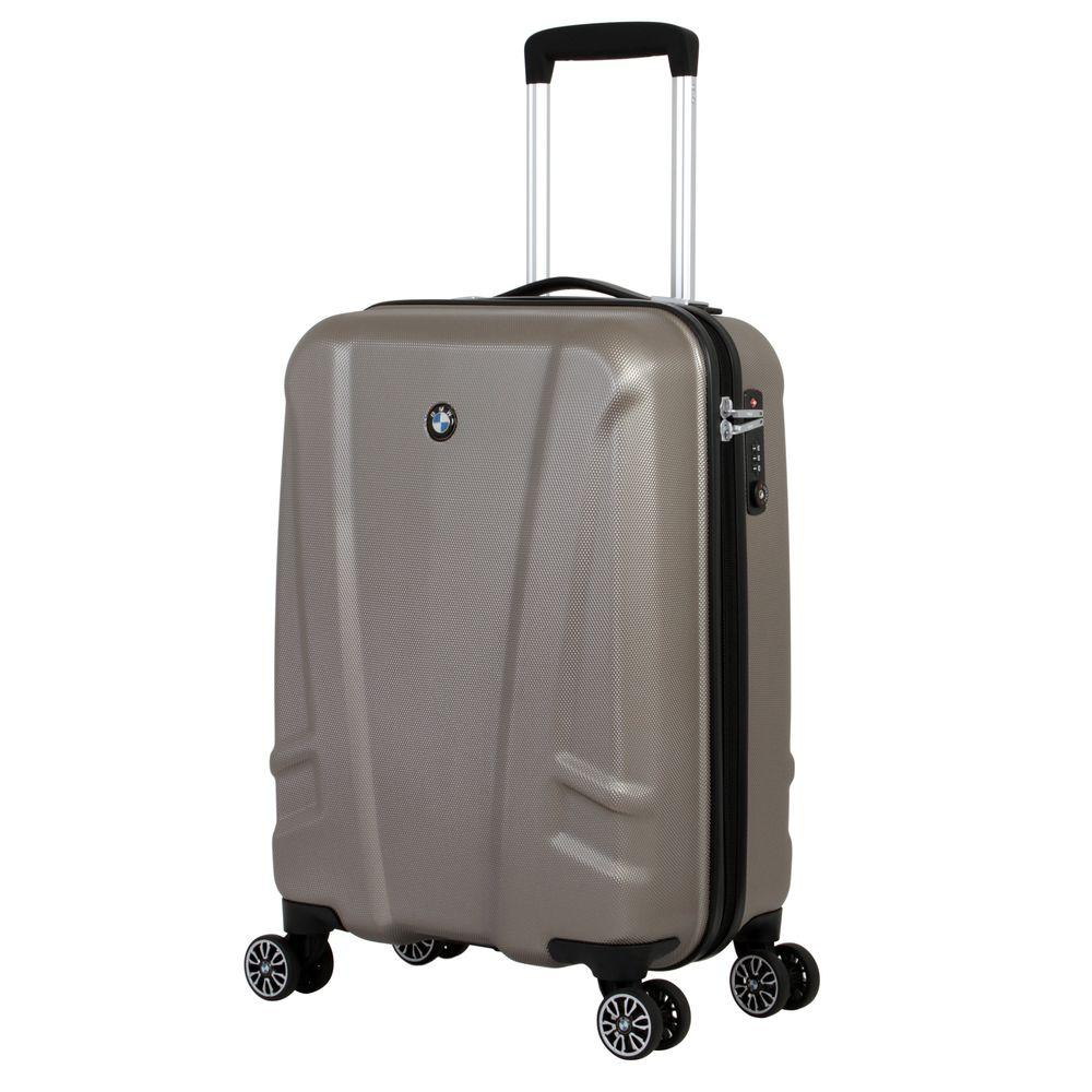 BMW 19 in. Champagne (Beige) Hardside Spinner Suitcase