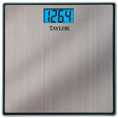 LCD Display Bath Scale in Stainless Steel