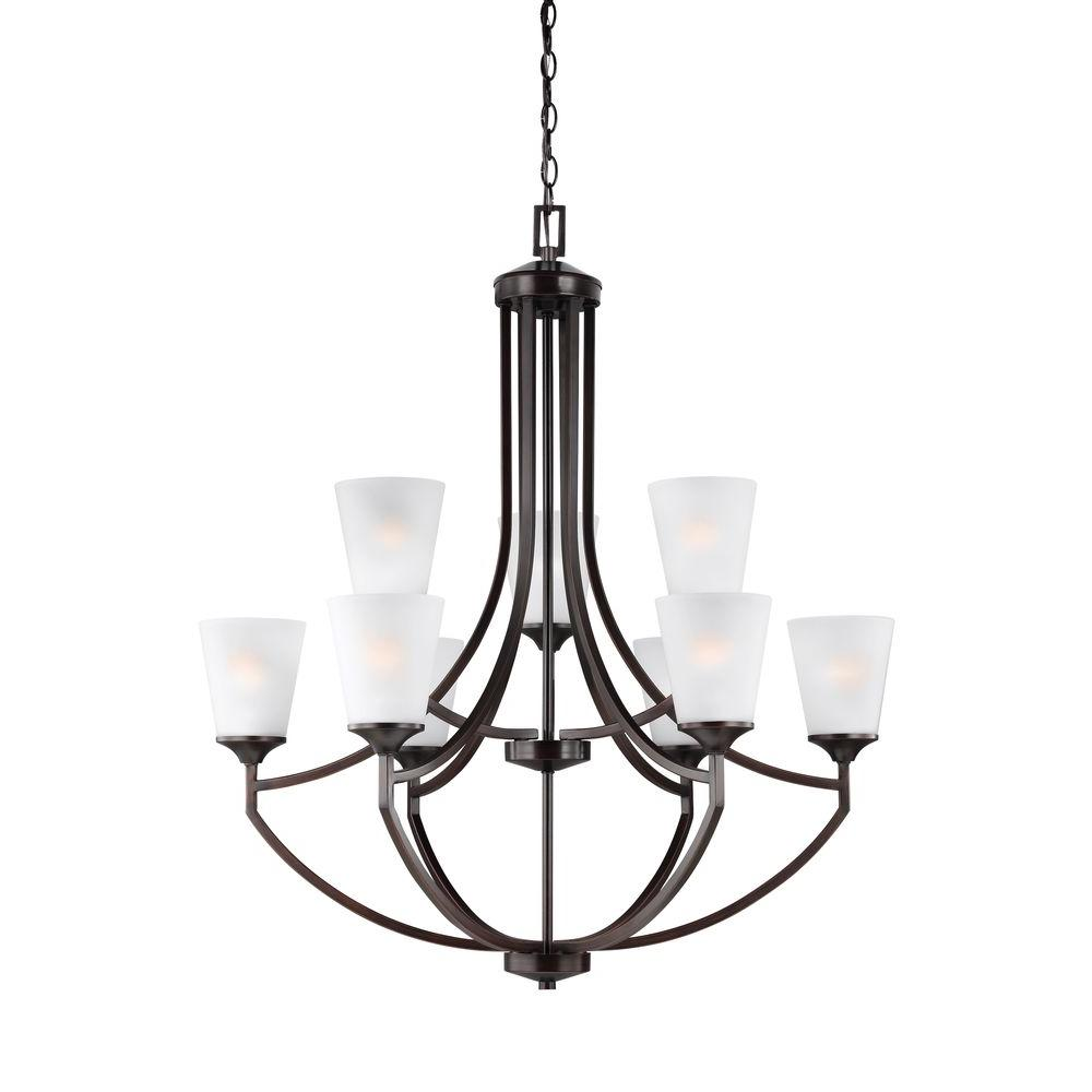 Sea Gull Lighting Products: Sea Gull Lighting Alturas 9-Light Brushed Nickel Multi