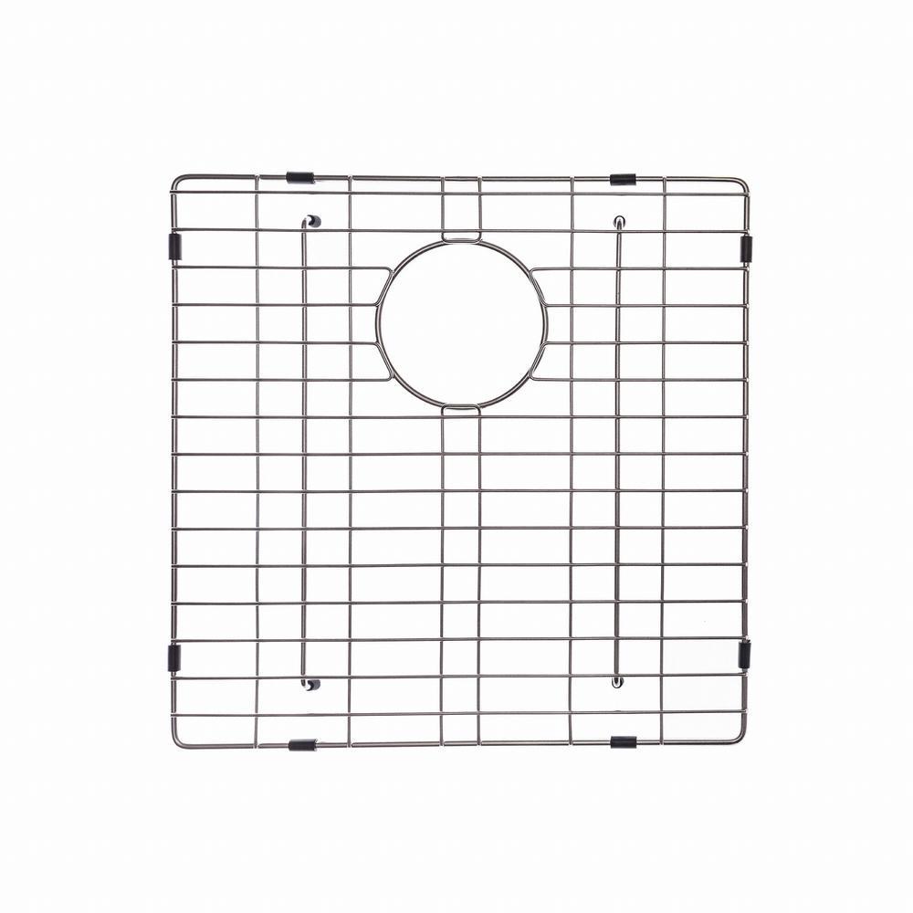 KRAUS 16 in. x 19 in. Bottom Sink Grid in Stainless Steel