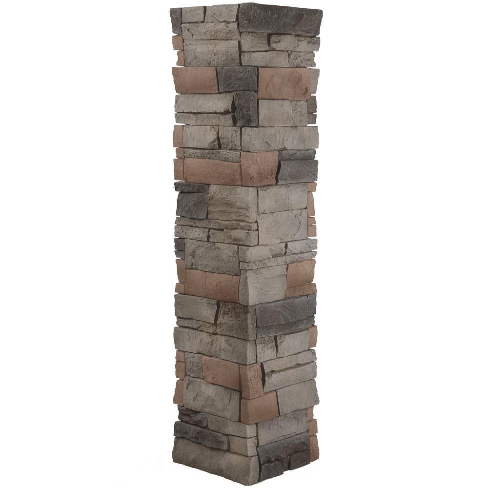 Stacked Stone 1.5 in. x 11.25 in. Kenai Faux Pillar Panel