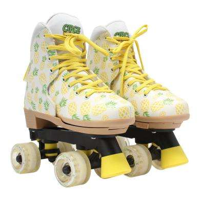 Girls Size 3-7 Craze Crushed Pineapple Skates