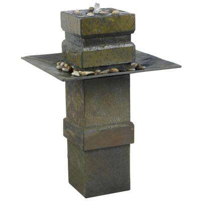 Cubist Outdoor Fountain